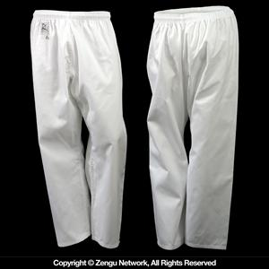 Lightweight Classic White Karate Pants